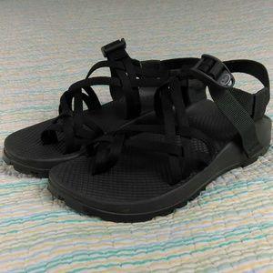 Chaco ZX/2 Black Sports Sandal 7 Toe Loop Vibram